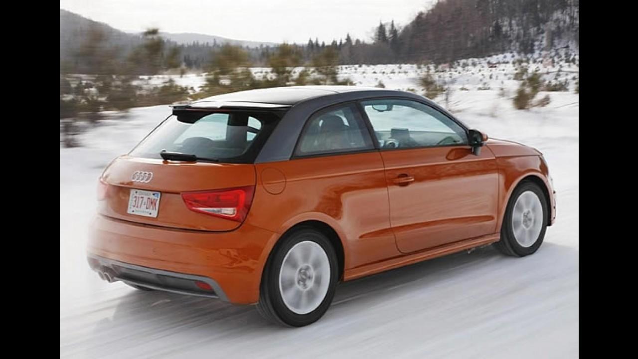 Audi testa A1 quattro no Canadá