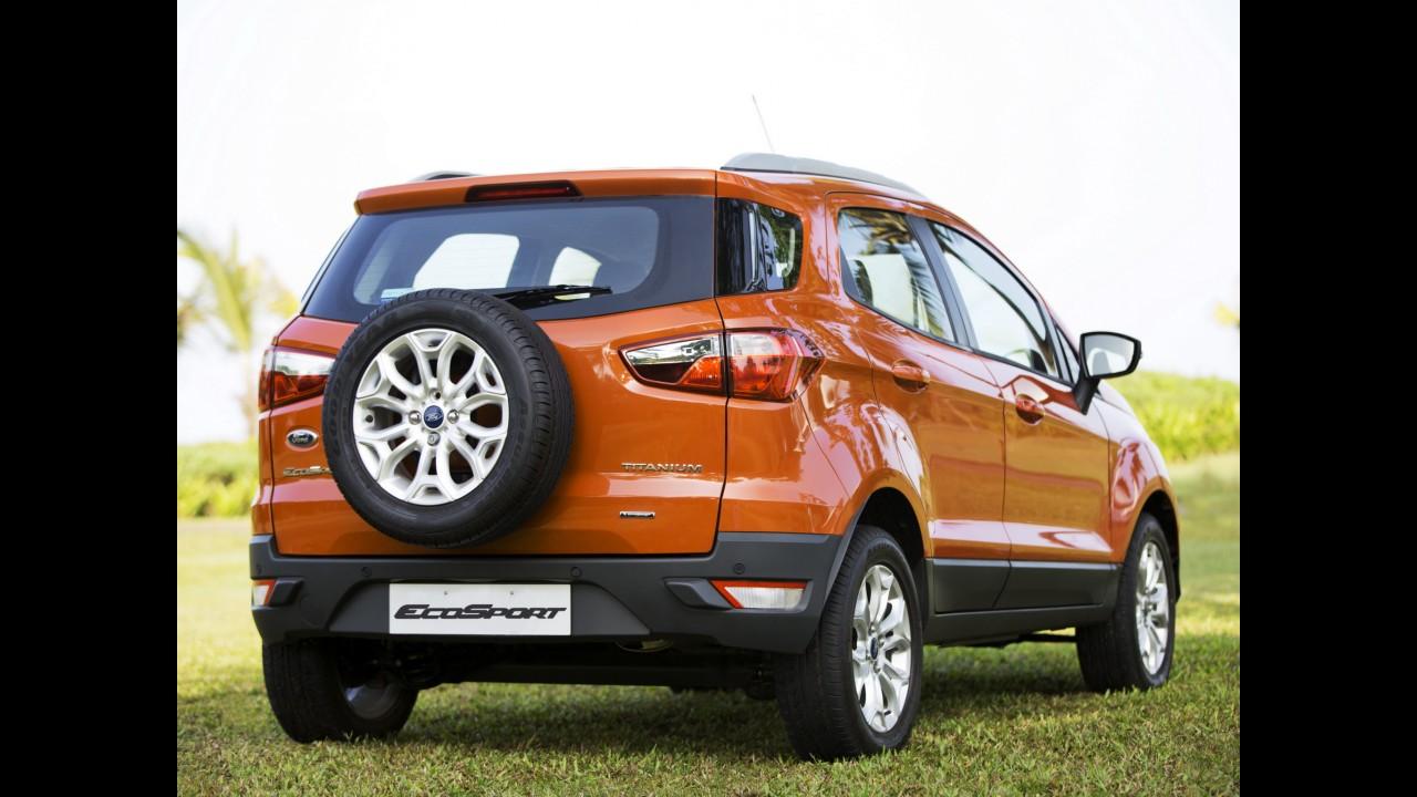 Ford EcoSport tem fila de espera de até seis meses na Índia