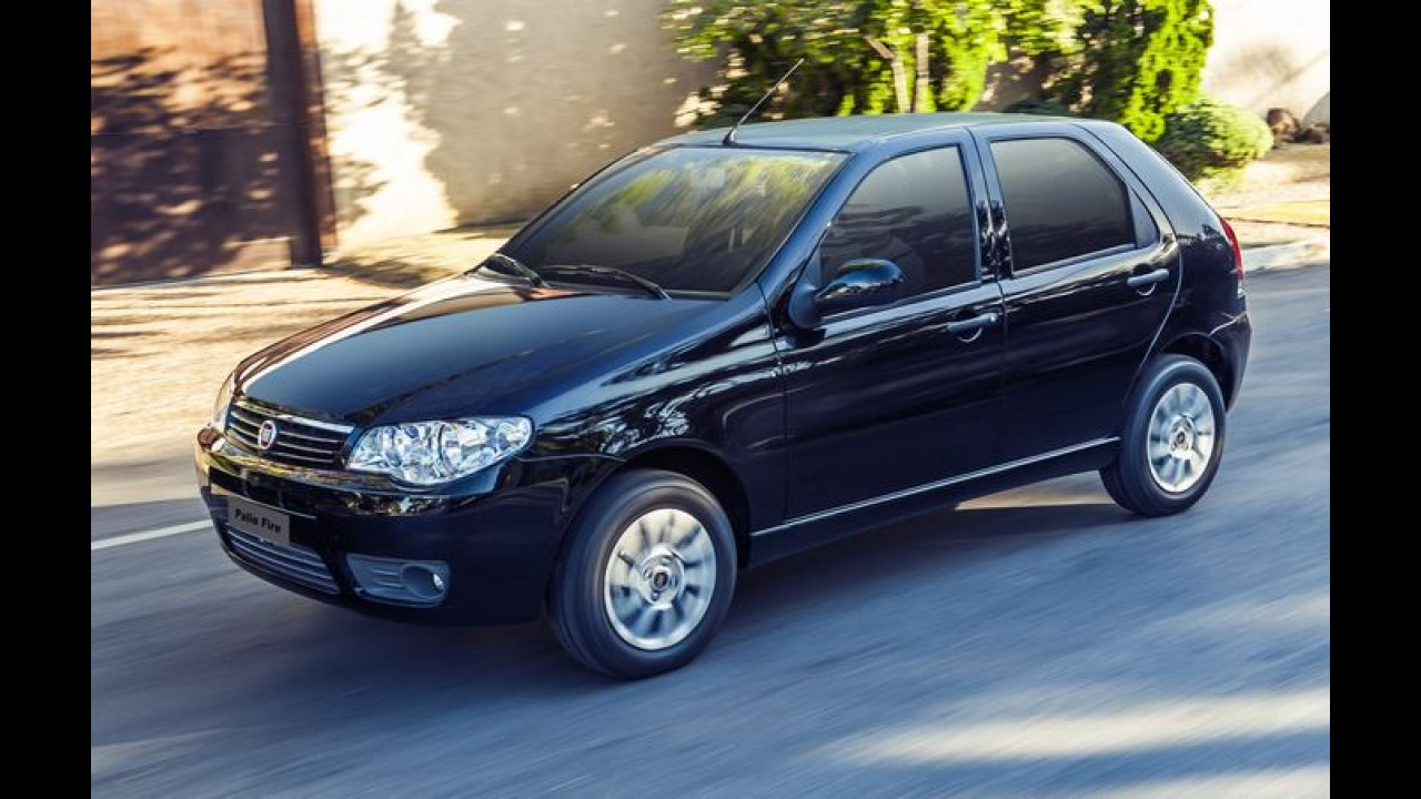 Fiat: Palio Fire sobe para R$ 24.490, mas continua o mais barato do Brasil