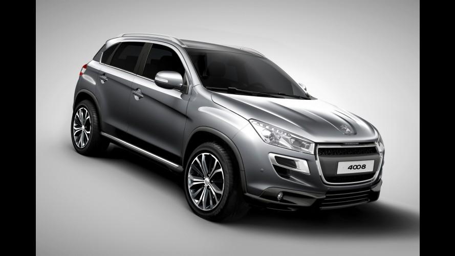 Peugeot também apresenta sua versão do ASX, o crossover 4008 - Veja fotos