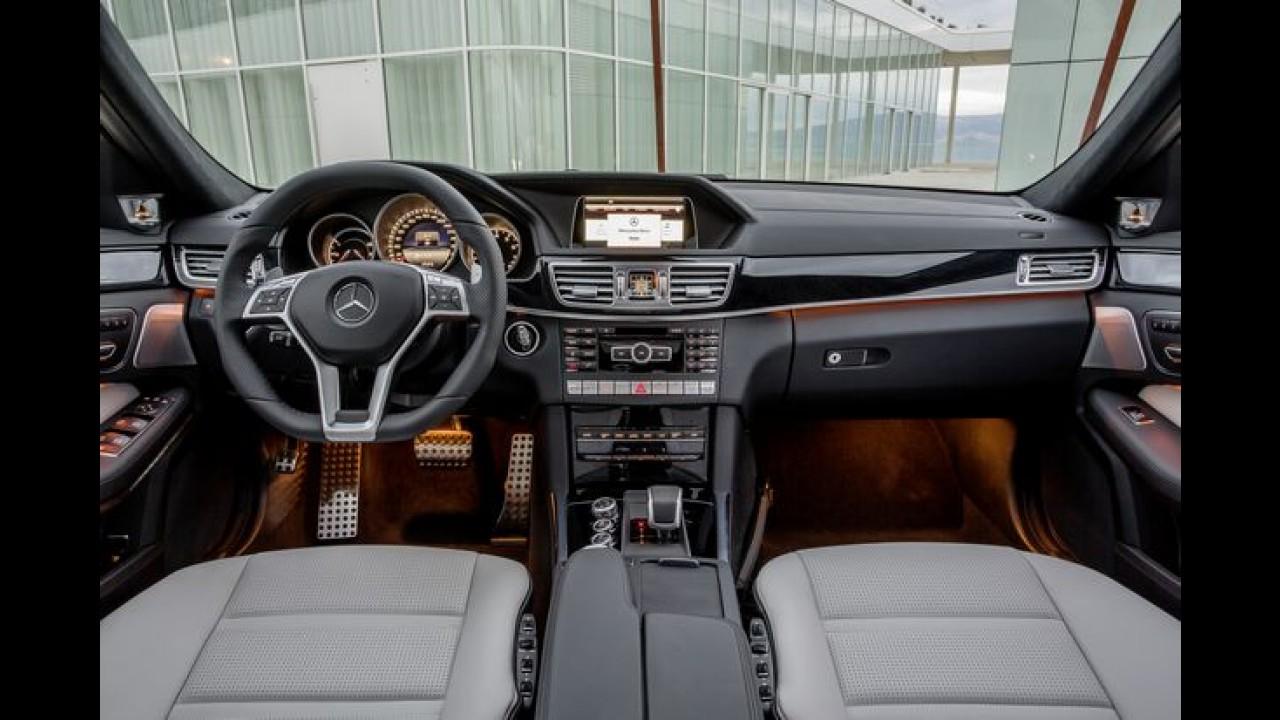 Mercedes lança E63 AMG 4MATIC de 557 cv no Brasil por R$ 553 mil