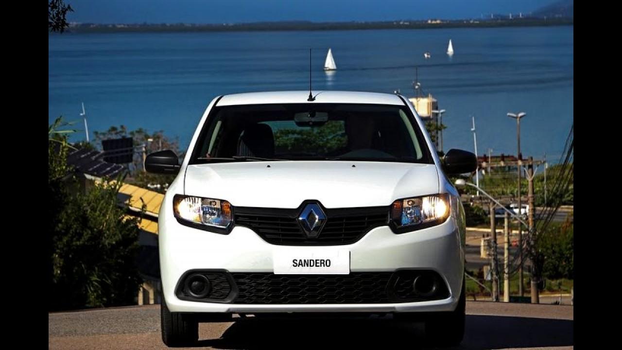 Renault convoca 33,9 mil unidades de Logan e Sandero para recall
