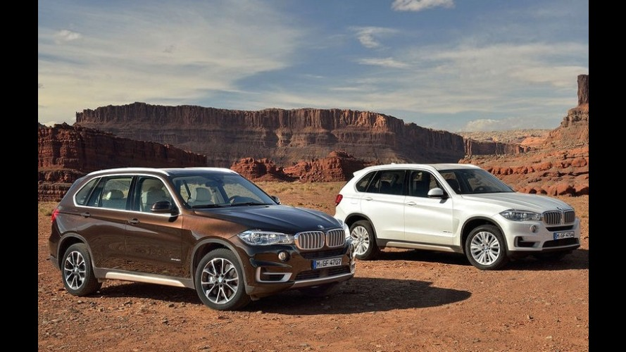 Novo BMW X5 2014 tem a primeira imagem revelada