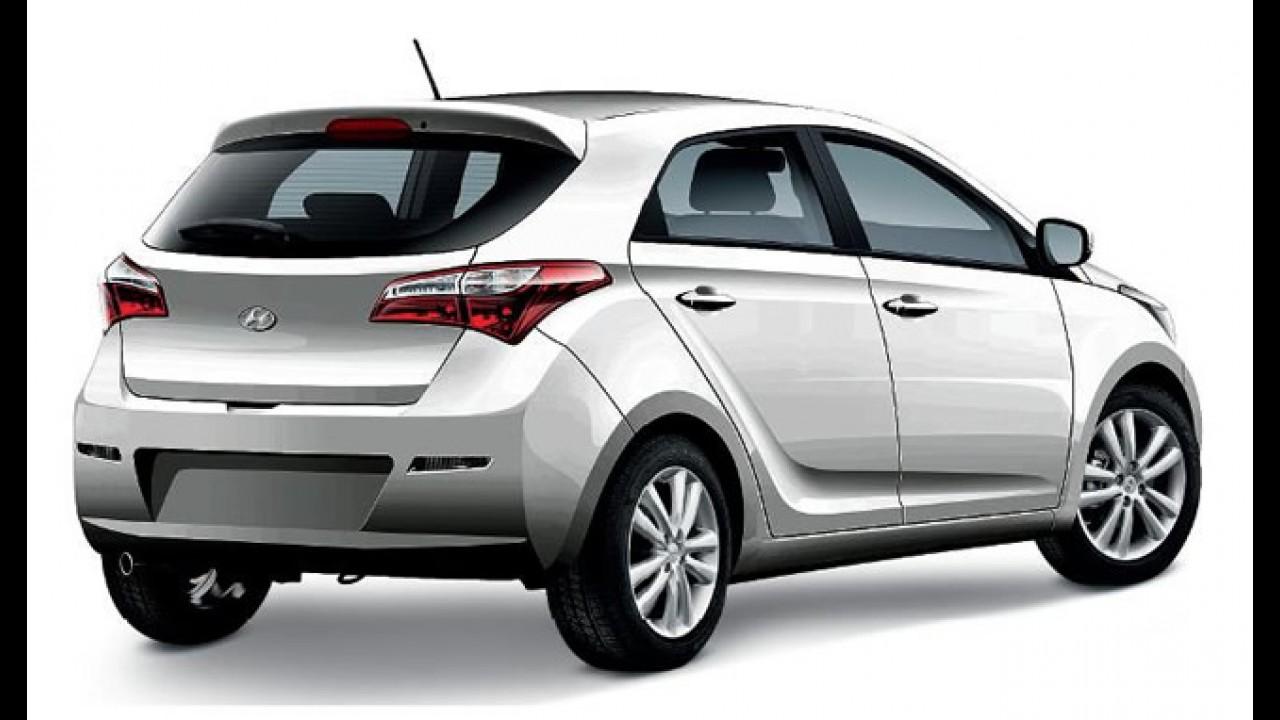 Revista Auto Esporte já testou o Hyundai HB, novo compacto brasileiro que chega em 2012
