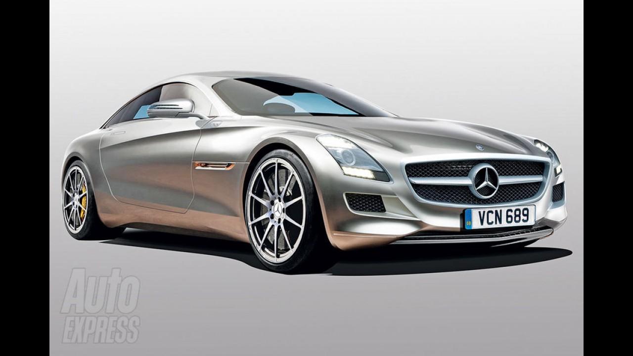Mini-SLS: Mercedes-Benz confirma produção do esportivo SLC