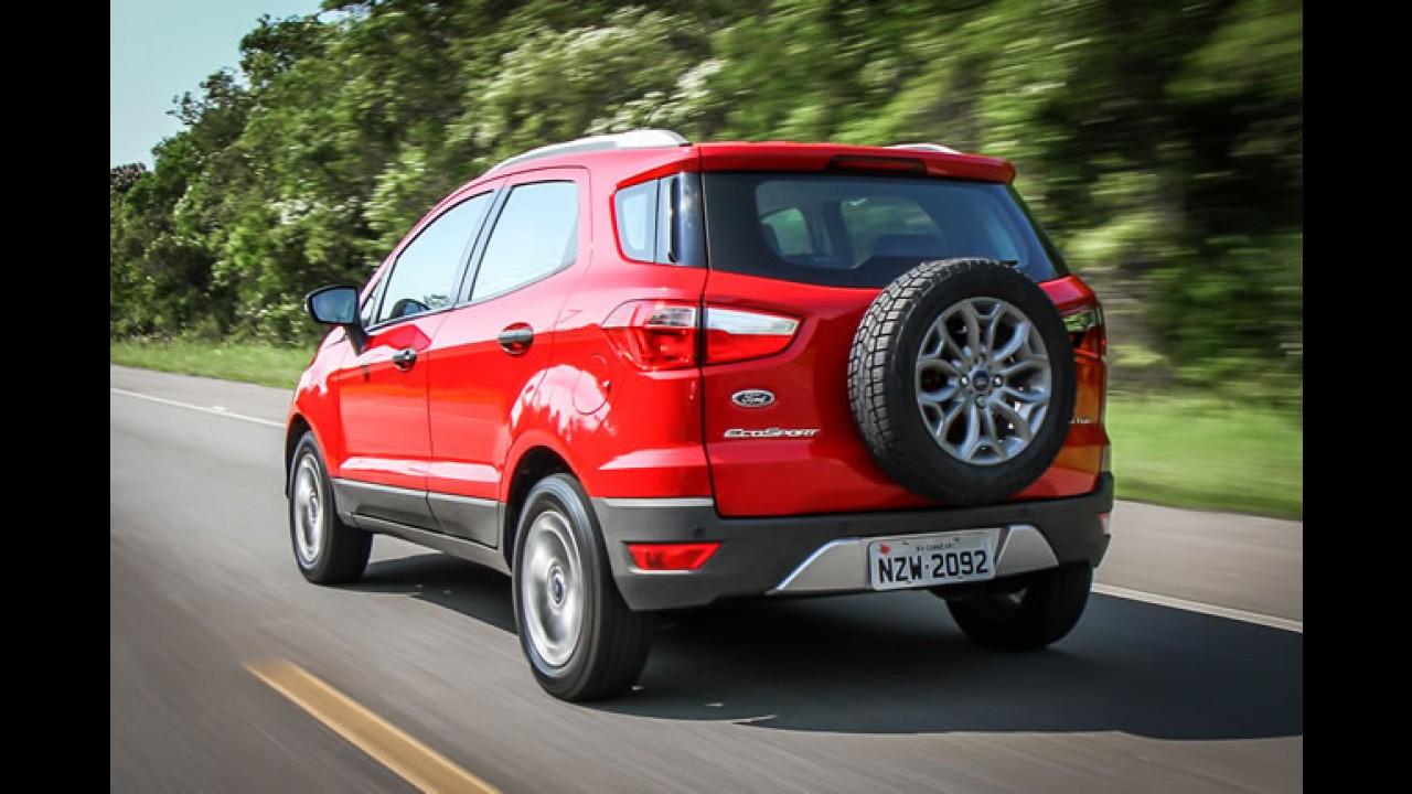 Recall: Ford chama EcoSport para solucionar falha que causa bolhas nos pneus