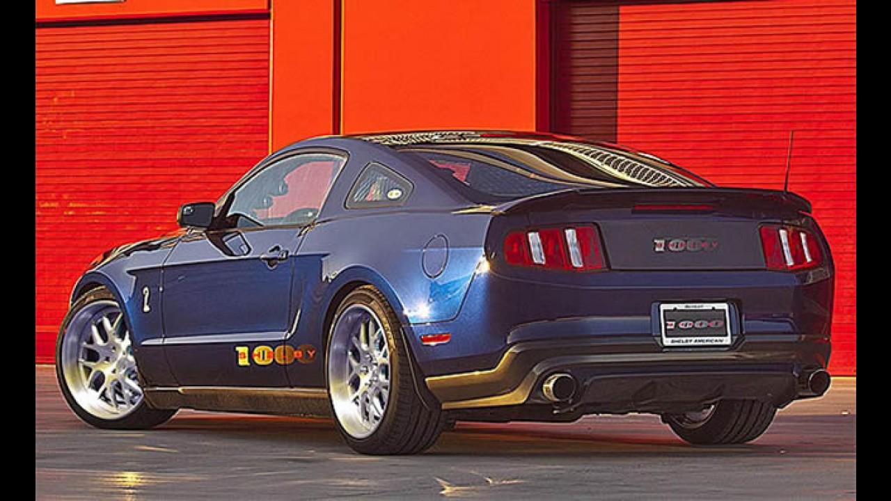 Salão de Nova York: Ford mostrará Novo Mustang Shelby com 1.115 cavalos de potência