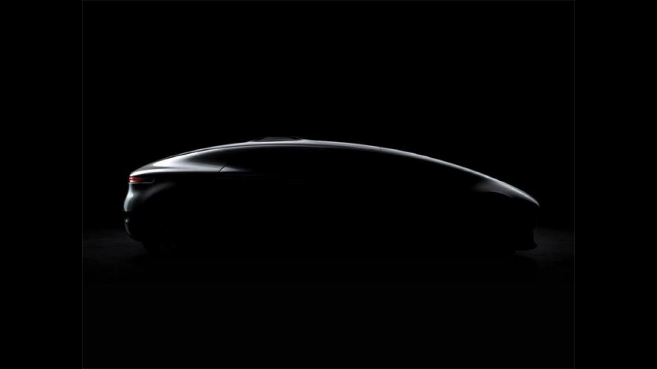 Mercedes-Benz divulga teaser de novo carro-conceito autônomo
