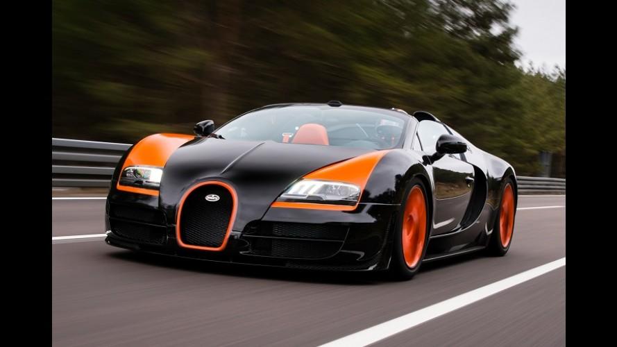 """Encalhou! Bugatti faz """"promoção"""" para vender últimas 40 unidades do Veyron"""
