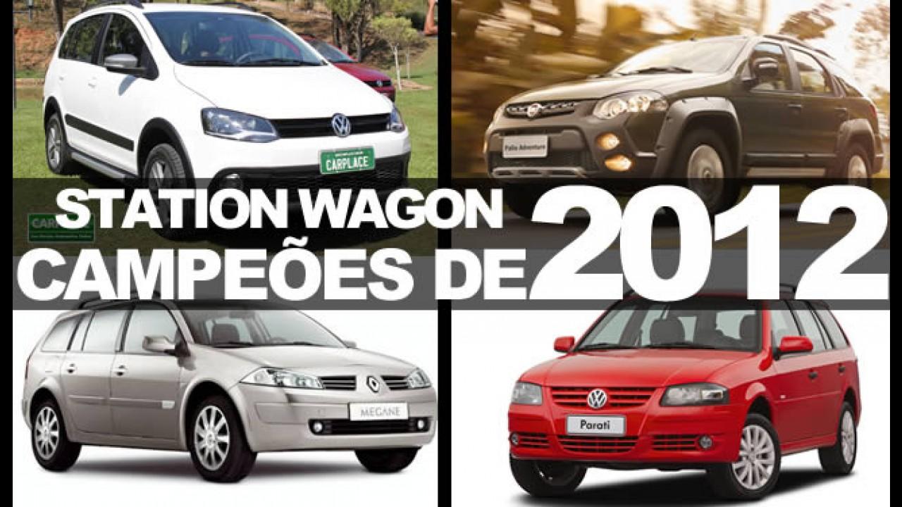 """Especial """"Campeões de 2012"""": Conheça as peruas (stations) mais vendidas no Brasil"""