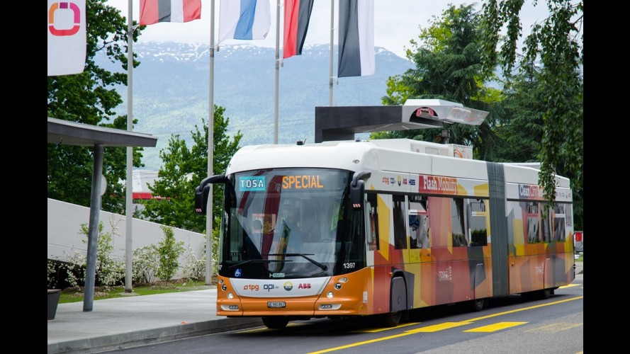 """Revolução: """"Flash de carga"""" promete recarregar ônibus elétrico em 15s"""