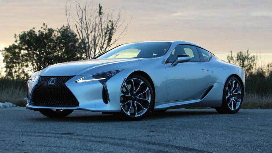 2018 Lexus Lc 500 Review Show Stopper Grocery Shopper
