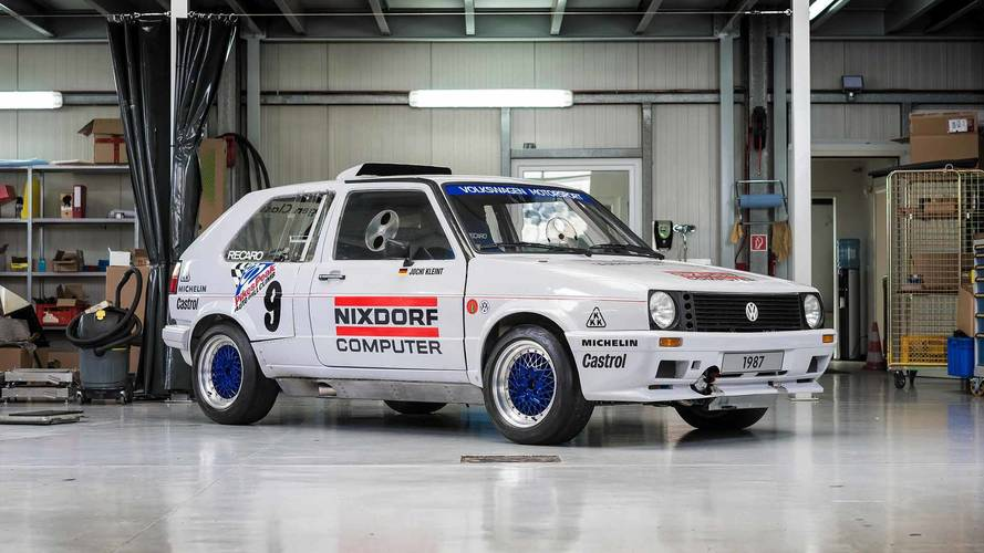Twin-Engined VW GTI Pikes Peak Racer Restored To Be Rally Ready