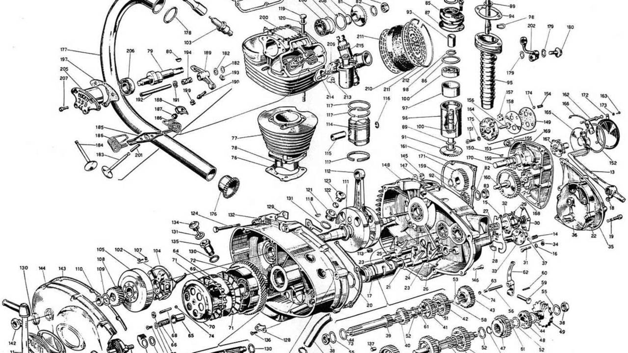 The exploded engine diagram with part numbers is also a great option