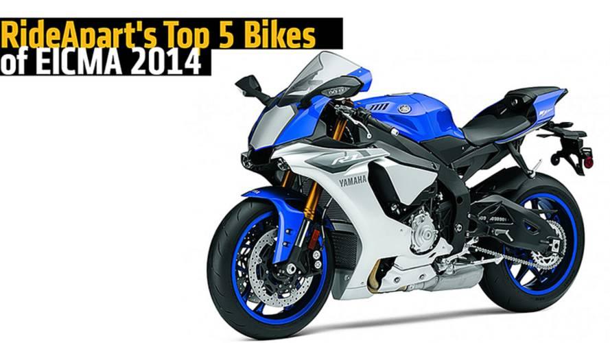 RideApart's Top 5 Bikes of EICMA 2014