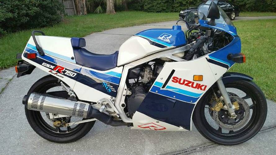 Online Find eBay Edition - Maybe the Cleanest 1986 GSX-R750 Left