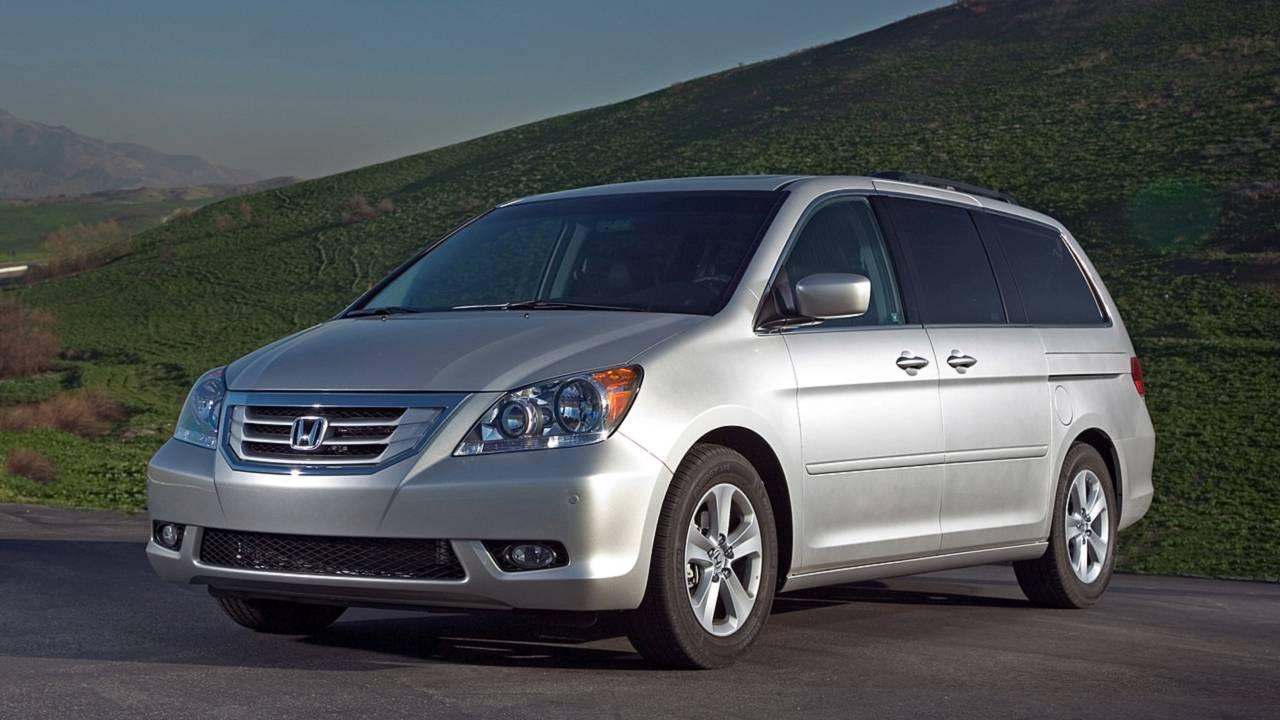 6. Honda Odyssey – 13,282 miles