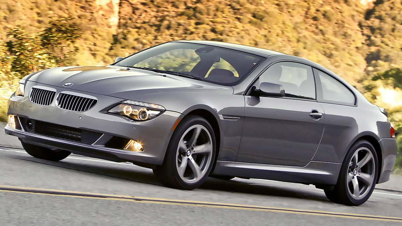 9.  BMW 6 Series Coupe – 8,895 miles