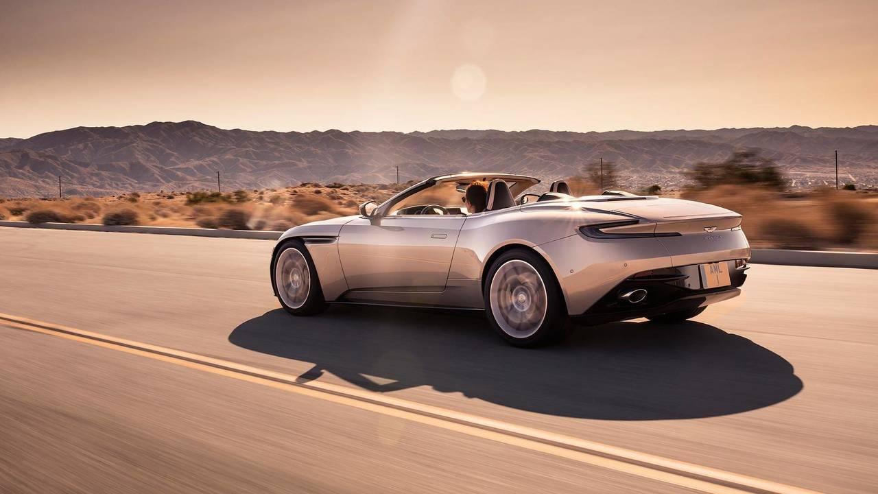 7 (Tie). Aston Martin DB11 Volante