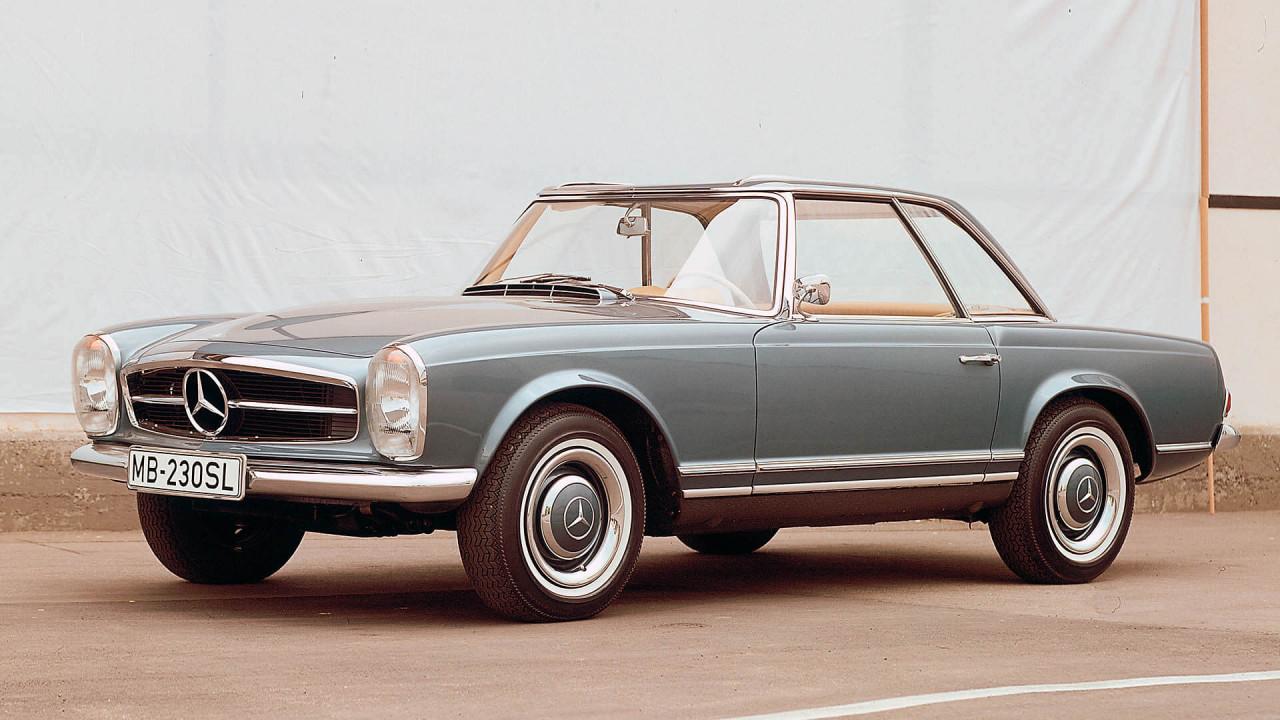 "Platz 9: Mercedes SL ""Pagode"" (Baureihe 113)"
