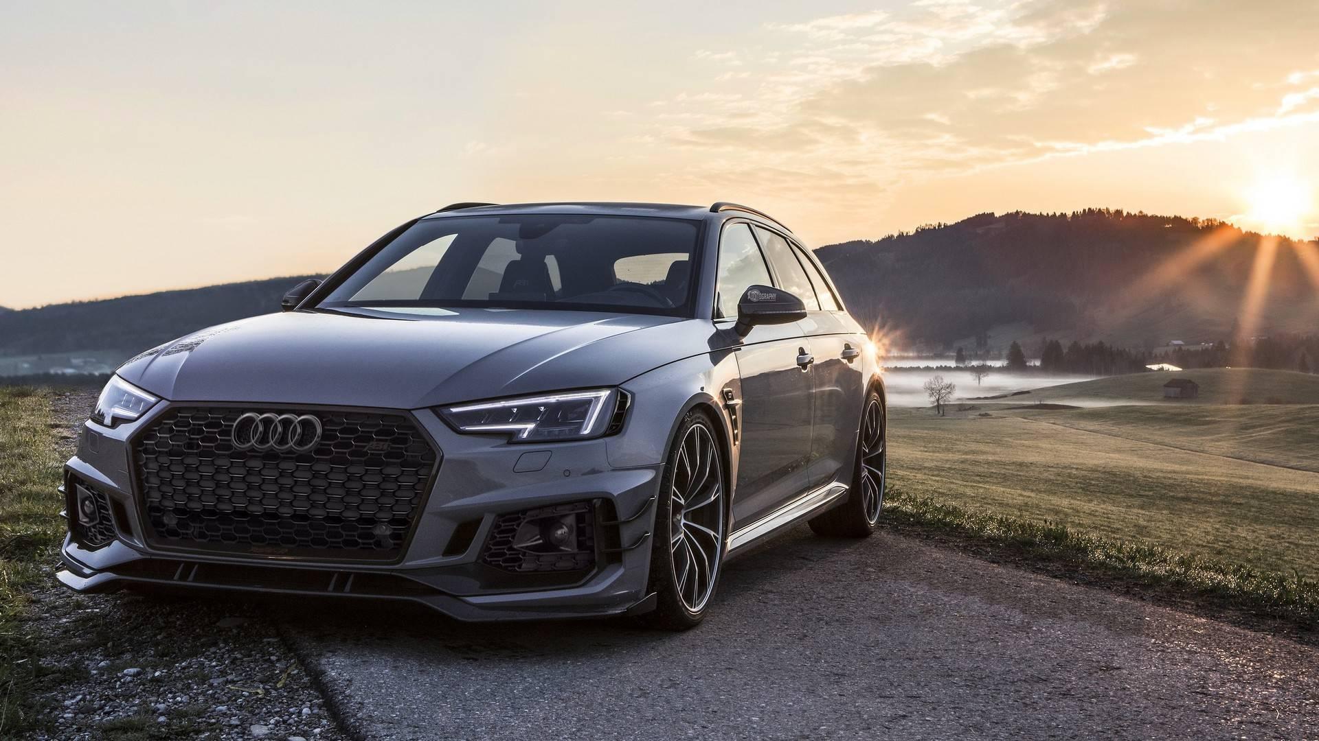 Audi Rs4 R Avant Por Abt Un Familiar De Pasarela