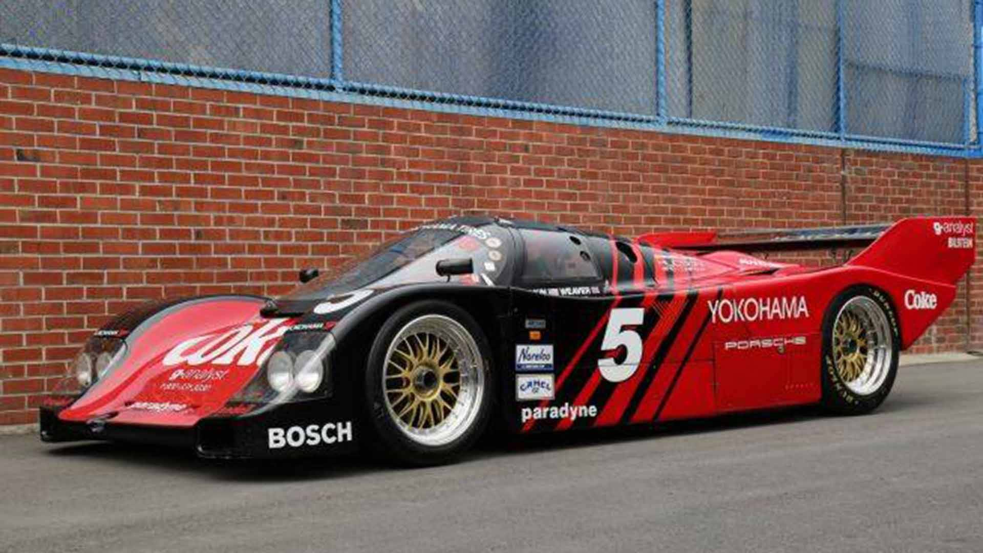 1987 Porsche 962 Race Car Needs New Owner Willing To Pay 127m