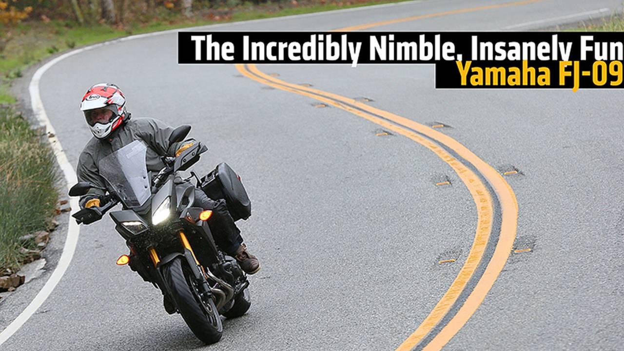 The Incredibly Nimble, Insanely Fun Yamaha FJ-09 - Review