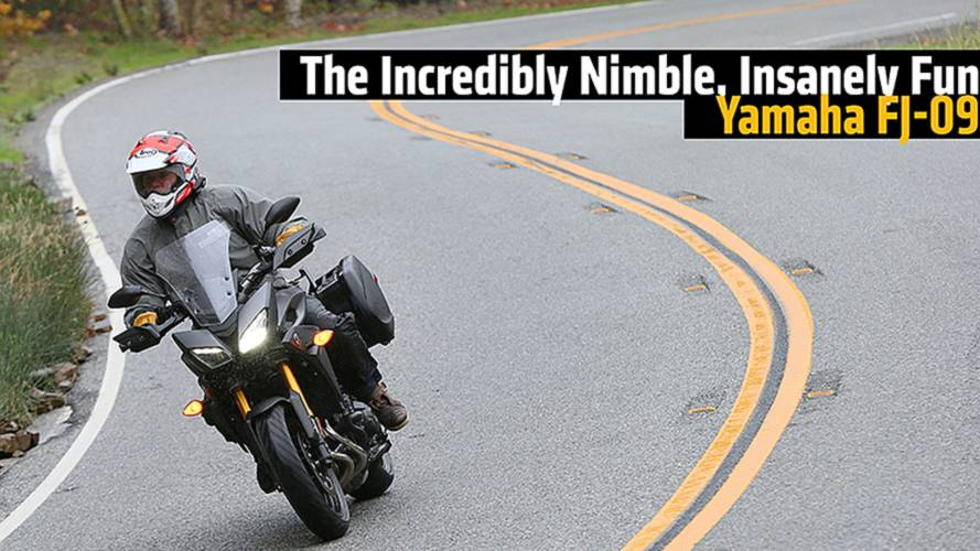 The Incredibly Nimble, Insanely Fun Yamaha FJ-09 - Review