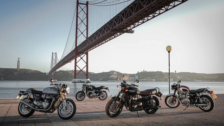 Pricing Announced for Triumph Thruxton, Bonneville T120
