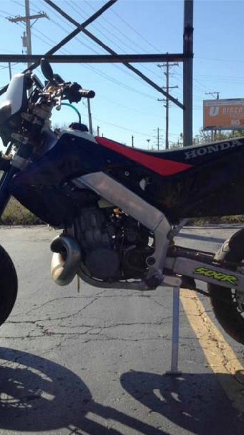 Street Legal Honda CR500/250 SuperMoto - Panjo Find of the Week
