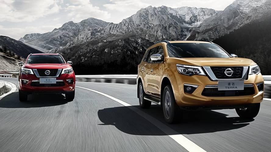 Novo SUV da Nissan Frontier tem patente registrada no Brasil