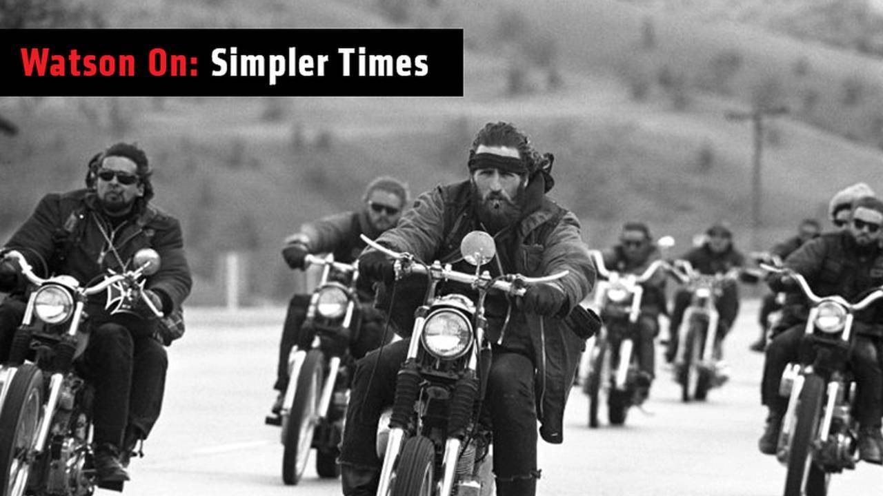 Watson On: Simpler Times