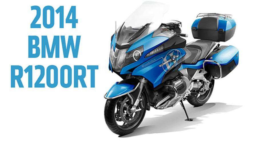 2013 EICMA: 2014 BMW R1200RT - Renderings