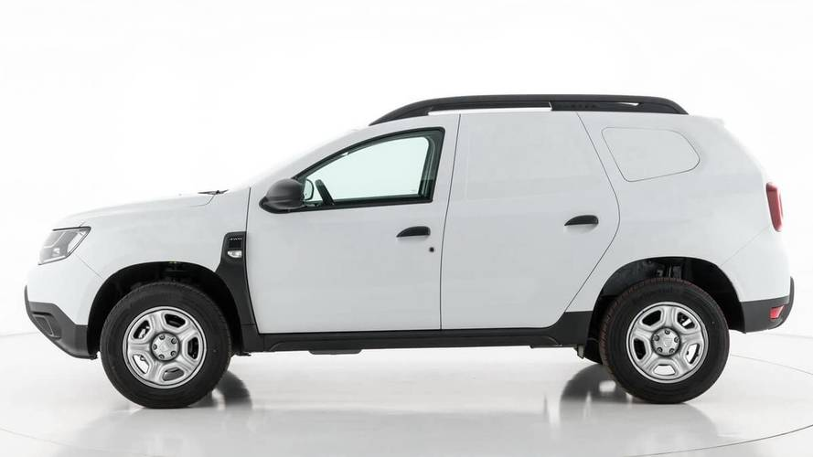 2018 Dacia Duster Fiskal Is A Cheap SUV Turned Van