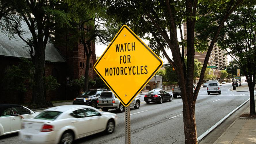 Can This Sign Make Motorcycles Safer?