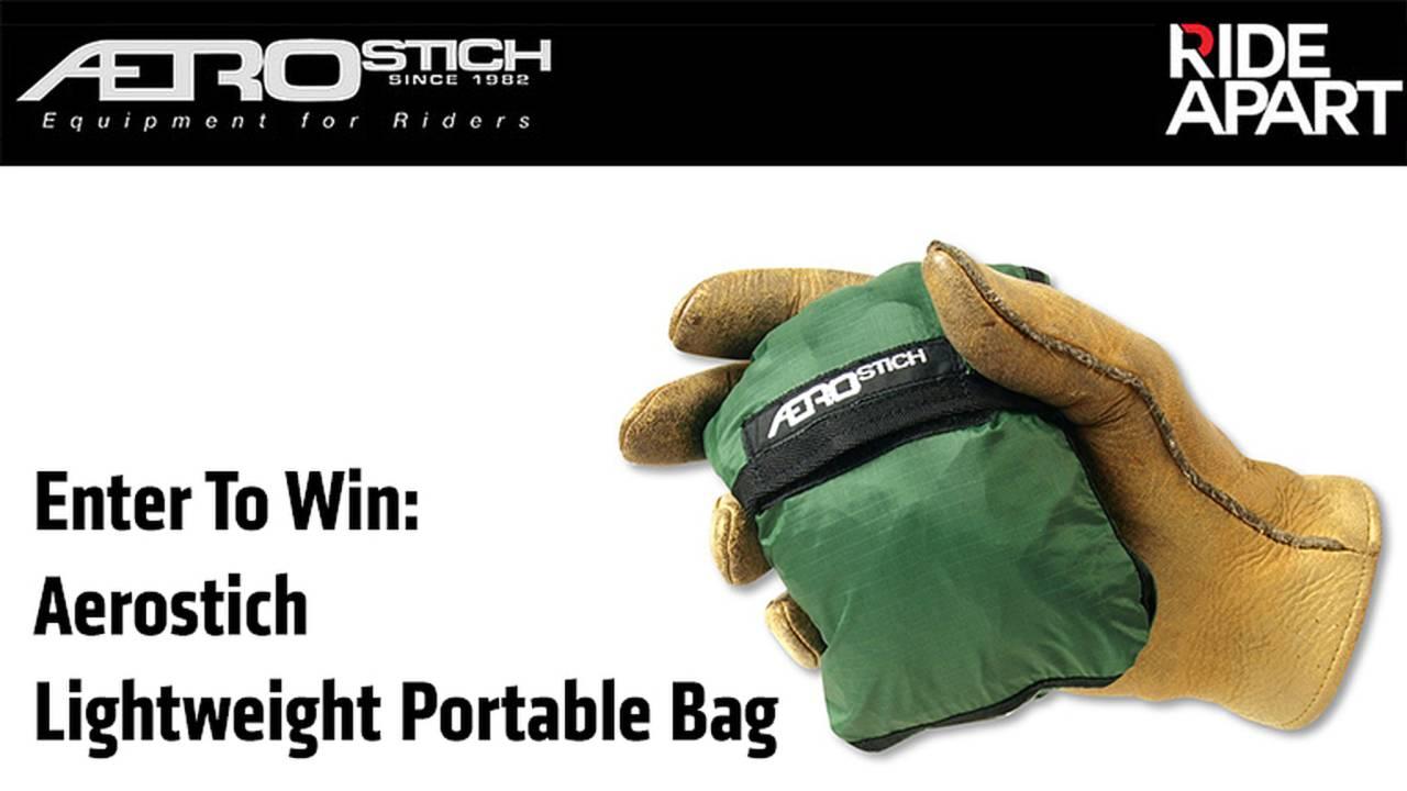Enter To Win An Aerostich Lightweight Portable Bag