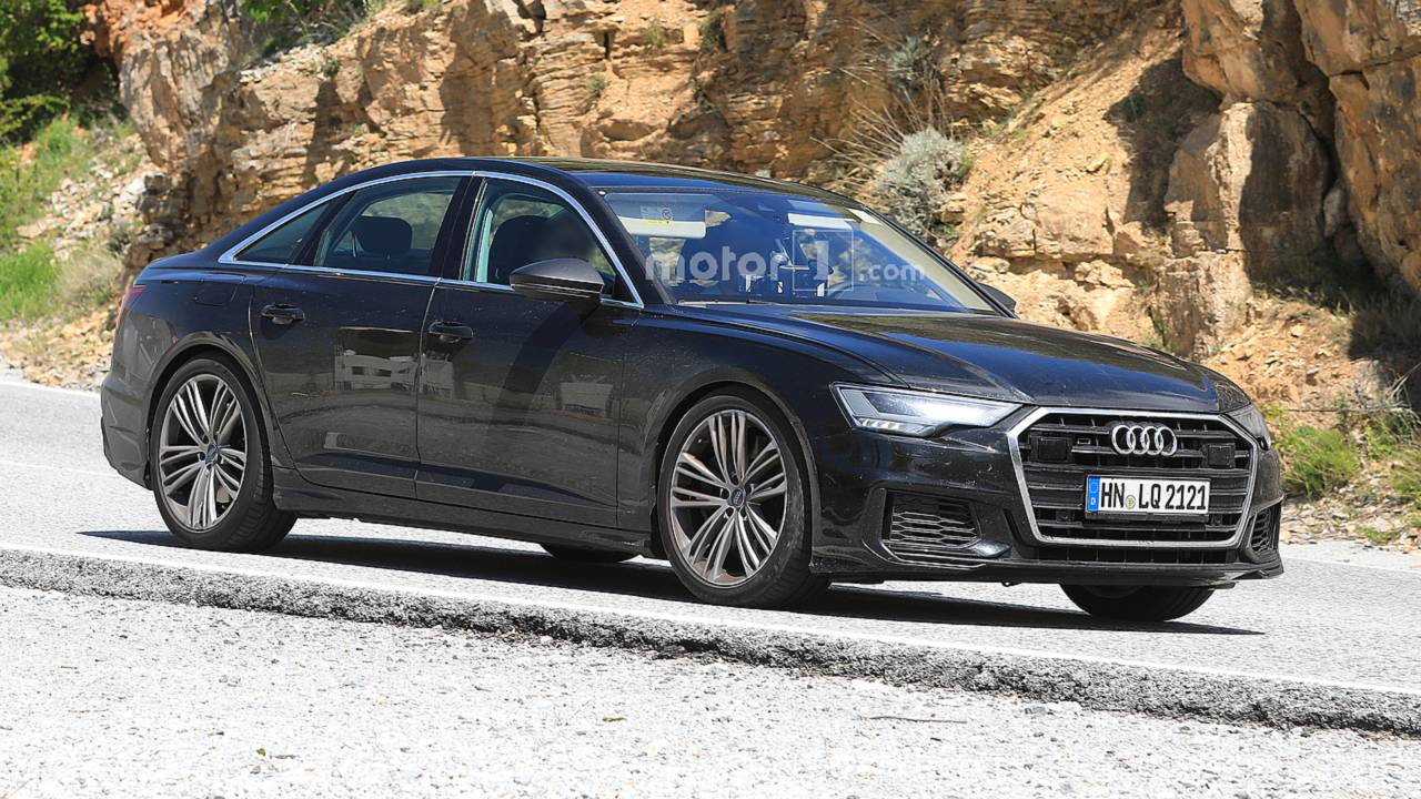 Audi S6 Spy Photos