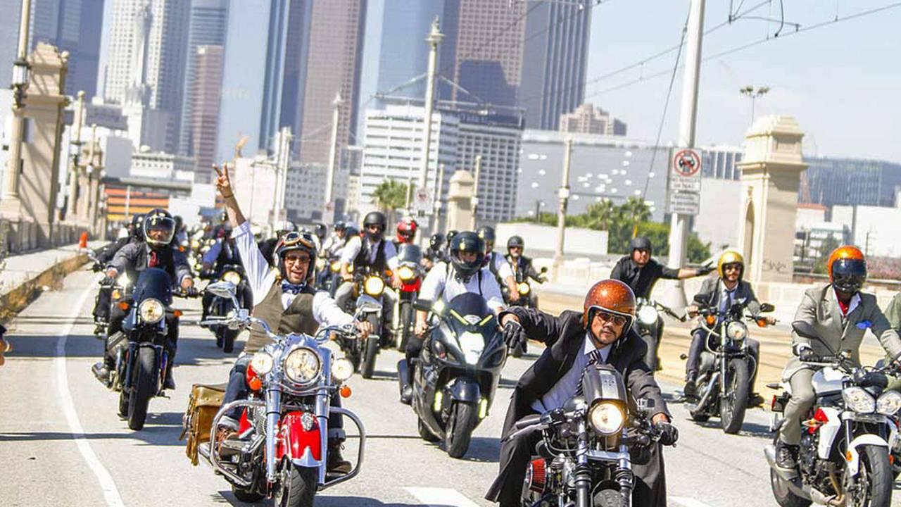 2015 Distinguished Gentleman's Ride - Los Angeles