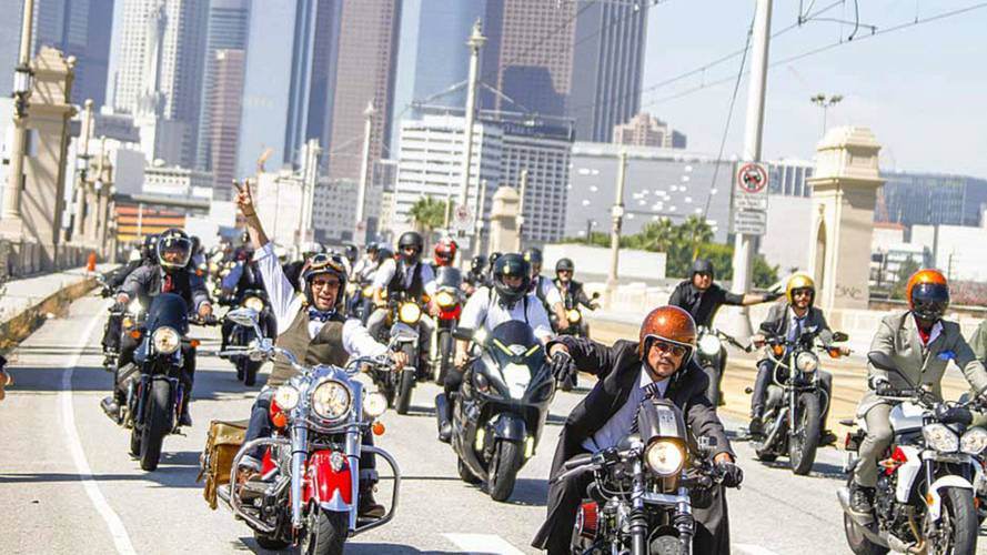 2015 Distinguished Gentleman's Ride - Los Angeles
