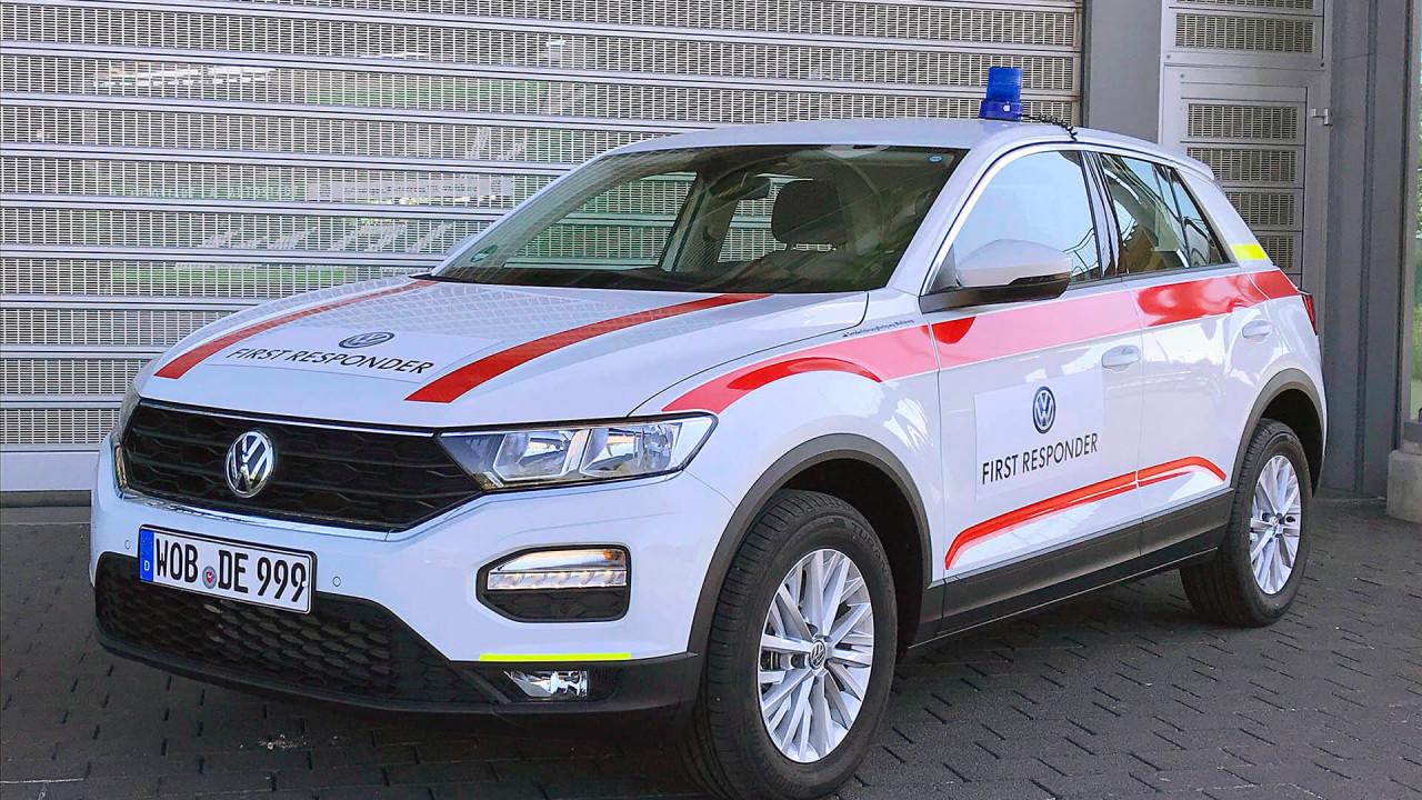 VW T-Roc First Responder