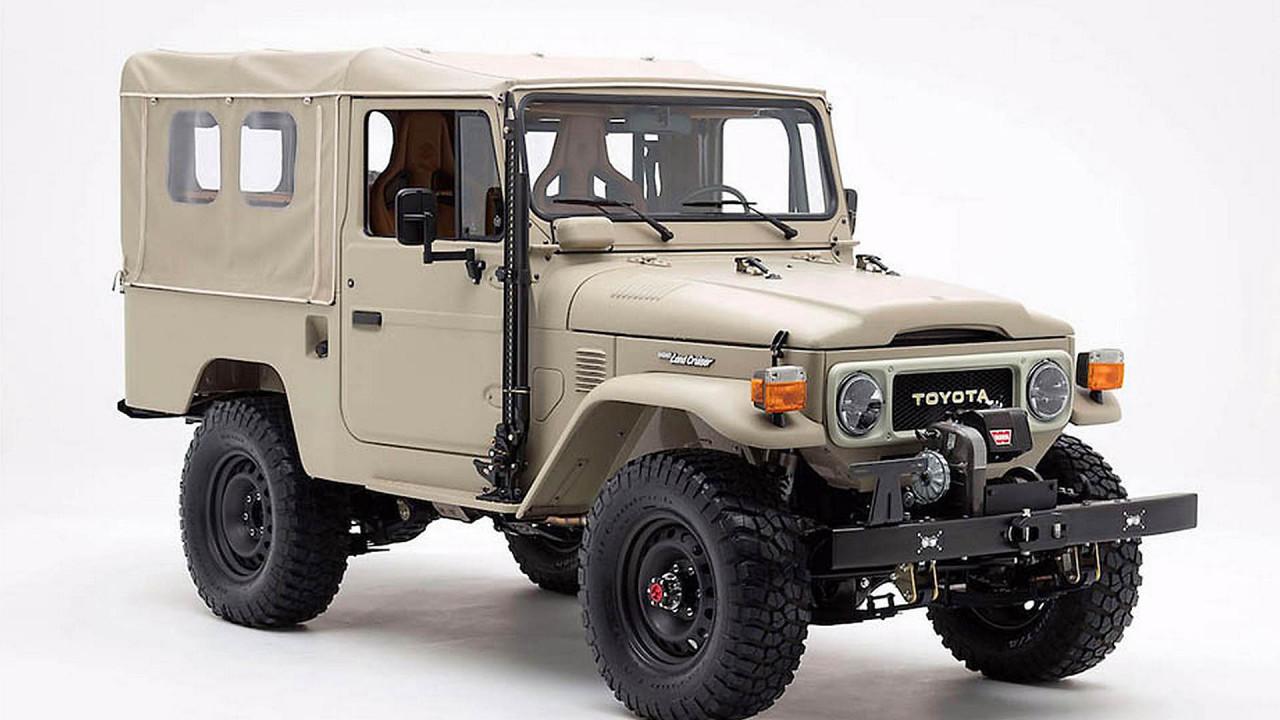 Toyota Land Cruiser J4 FJ Company