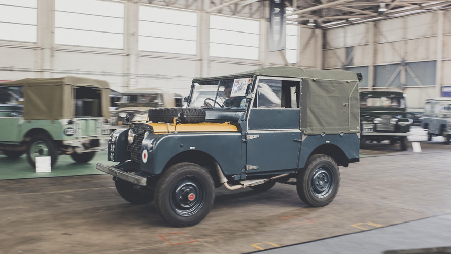Gallery: Land Rover legends gather for 70th celebration