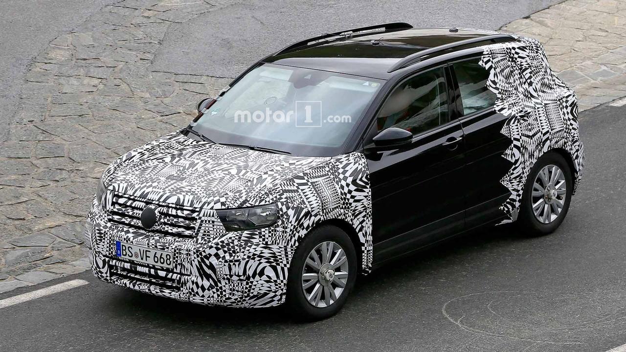 Volkswagen T-Cross Spy Shots