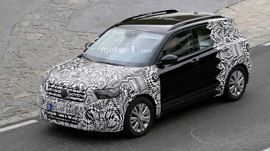 Photos espion - Le Volkswagen T-Cross quasiment prêt à en découdre