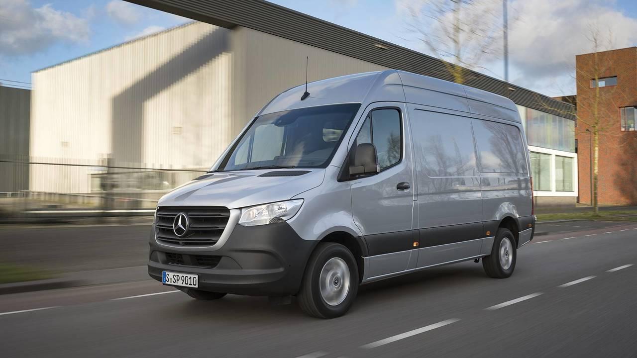 Primera prueba Mercedes-Benz Sprinter 2018