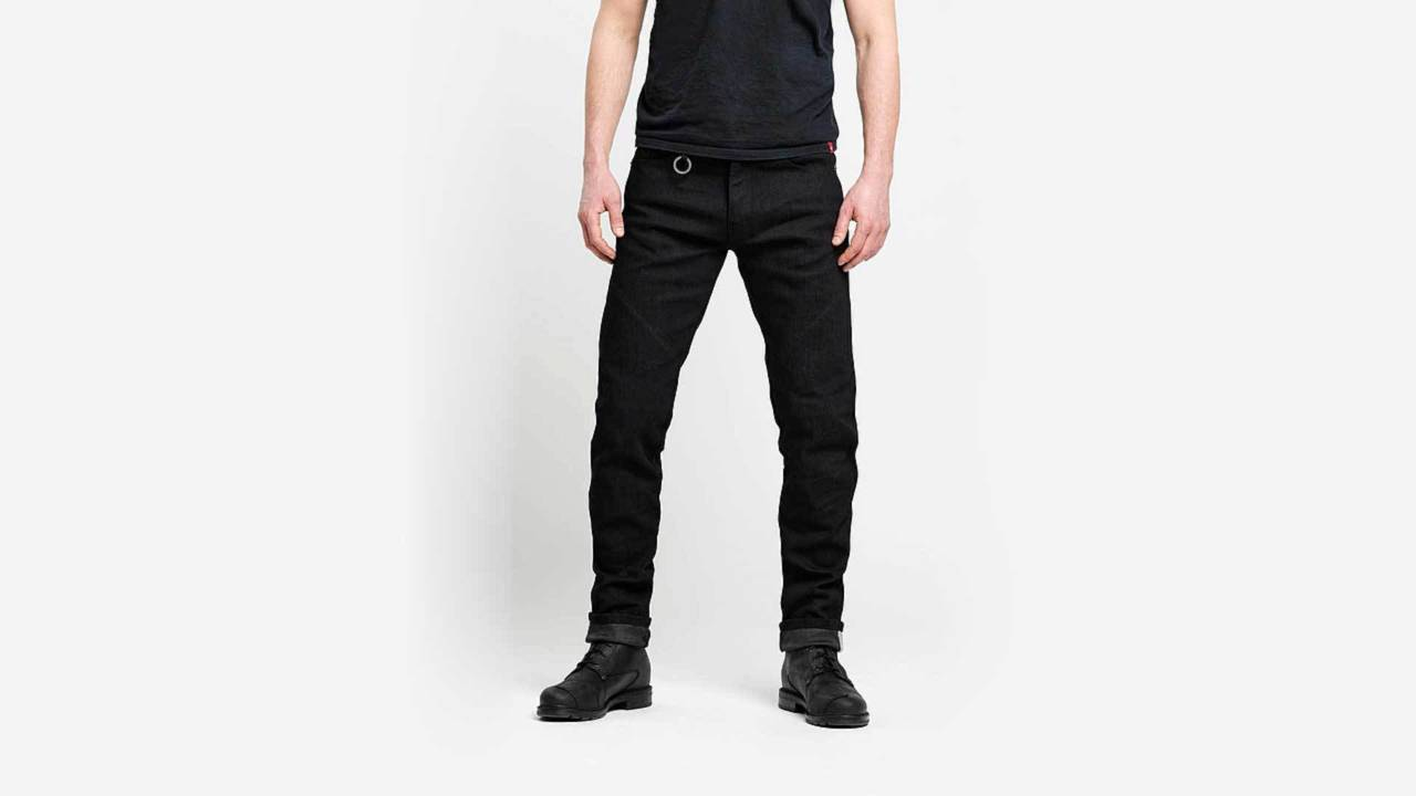 How much blacker could these jeans get? None more black.