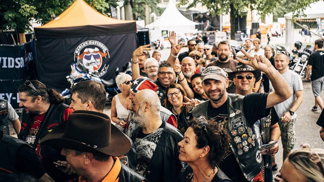 Harley-Davidson's 115th Anniversary in Prague