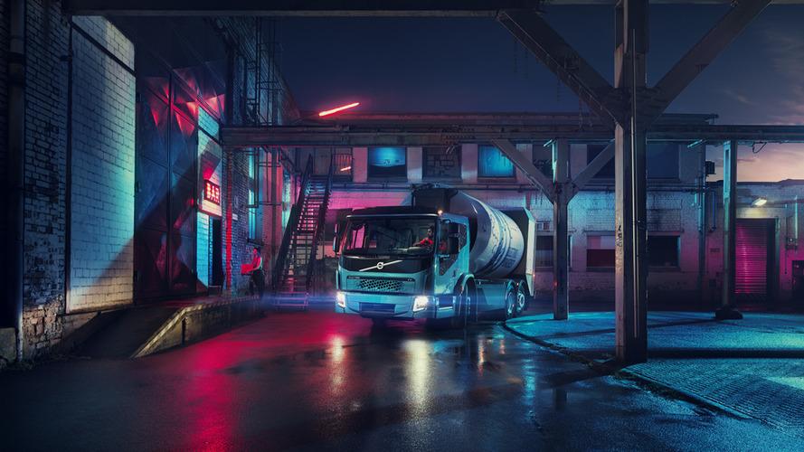 Volvo'nun ikinci elektrikli kamyonu FE Electric tanıtıldı