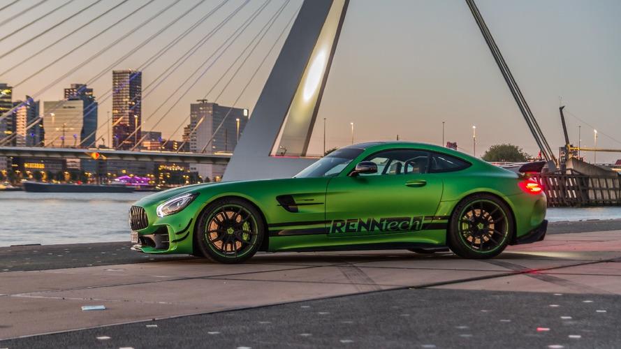 RENNtech'ten Mercedes-AMG GT'ye daha fazla güç