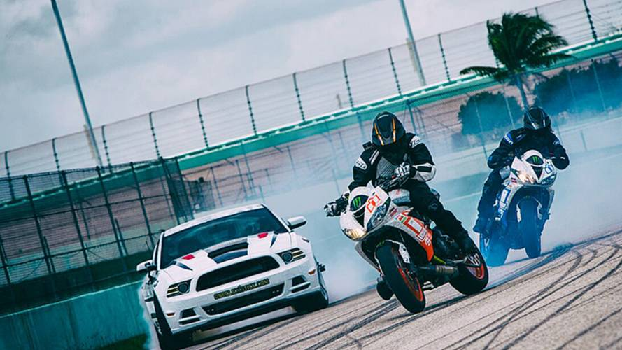 4k Drift: Balls-to-the-Wall Drifting, American Muscle and Utter Lunacy